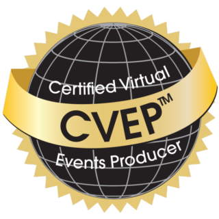 Certified Virtual Event Producer Badge