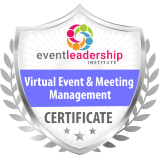 Certified Virtual Event Meeting Manager Badge