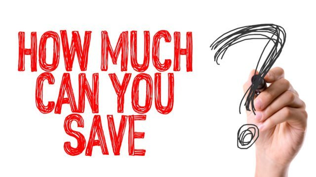Hand with marker writing the word How Much Can You Save on Event Production?